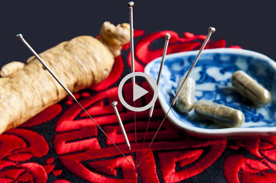 סרטונים ווידאו רפואה סינית ודיקור סיני וכוסות רוח